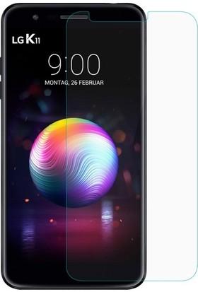 Casestore LG K11 Nano Ekran Koruyucu Cam Şeffaf