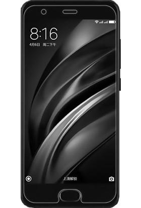 Casestore Xiaomi Mi 6 Nano Ekran Koruyucu Cam Şeffaf + Şeffaf Silikon Kılıf