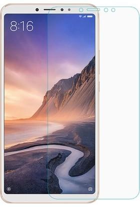 Casestore Xiaomi Mi Max 3 Nano Ekran Koruyucu Cam Şeffaf + Şeffaf Silikon Kılıf
