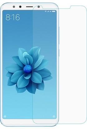 Casestore Xiaomi Mi A2 Nano Ekran Koruyucu Cam Şeffaf + Şeffaf Silikon Kılıf
