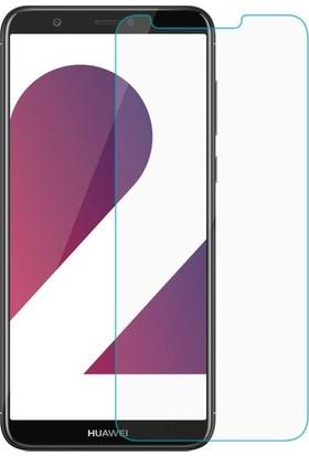Casestore Huawei P Smart Nano Ekran Koruyucu Cam Şeffaf + Şeffaf Silikon Kılıf