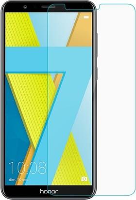 Casestore Huawei Honor 7X Nano Ekran Koruyucu Cam Şeffaf + Şeffaf Silikon Kılıf
