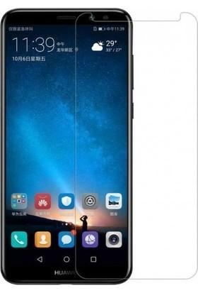 Casestore Huawei Mate 9 Nano Ekran Koruyucu Cam Şeffaf + Şeffaf Silikon Kılıf