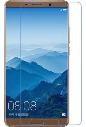 Casestore Huawei Mate 10 Nano Ekran Koruyucu Cam Şeffaf + Şeffaf Silikon Kılıf