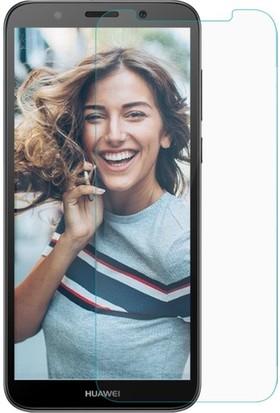 Casestore Huawei Y5 2018 Nano Ekran Koruyucu Cam Şeffaf + Şeffaf Silikon Kılıf