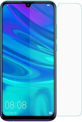 Casestore Huawei Y7 Prime 2019 Nano Ekran Koruyucu Cam Şeffaf + Şeffaf Silikon Kılıf