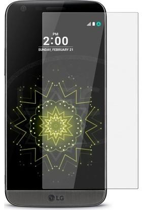 Casestore LG G5 Nano Ekran Koruyucu Cam Şeffaf + Şeffaf Silikon Kılıf