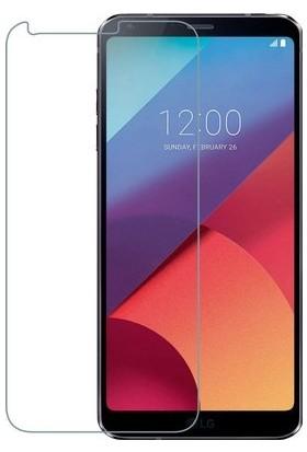 Casestore LG Q6 Nano Ekran Koruyucu Cam Şeffaf + Şeffaf Silikon Kılıf