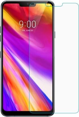 Casestore LG G7 Nano Ekran Koruyucu Cam Şeffaf + Şeffaf Silikon Kılıf