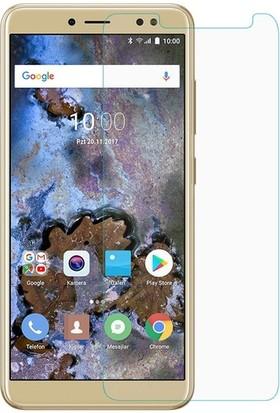 Casestore Casper Via M4 Nano Ekran Koruyucu Cam Şeffaf + Şeffaf Silikon Kılıf