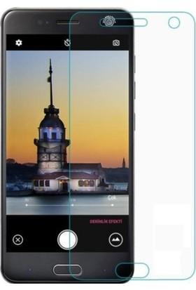 Casestore Turkcell T80 Nano Ekran Koruyucu Cam Şeffaf + Şeffaf Silikon Kılıf