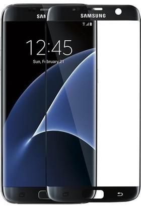 Casestore Samsung Galaxy S7 5D Full Nano Ekran Koruyucu Cam Siyah + Şeffaf Silikon Kılıf