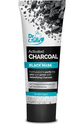 Farmasi Dr.C.Tuna Aktif Karbon Detoks Etkili Siyah Maske 80 ml
