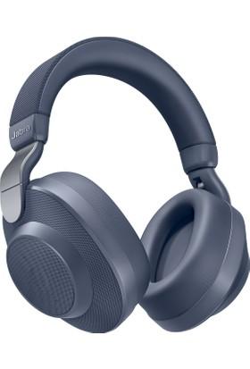 Jabra Elite 85H Aktif-Pasif Gürültü Önleyici Kulaküstü Bluetooth Kulaklık Navy Mavi