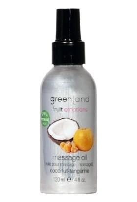 Greenland Organik Aromalı Masaj Yağı Hindistan Cevizi - Mandalina 120 ml