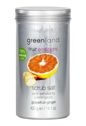 Greenland Vücut Bakımı Parabensiz Scrub Salt Vücut Peelingi Greyfurt - Zencefil 400 G