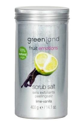 Greenland Vücut Peelingi Parabensiz Scrub Salt Misket Limonu - Vanilya 400 G