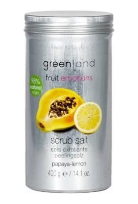 Greenland Vücut Peelingi Parabensiz Scrub Salt Papaya - Limon 400 G