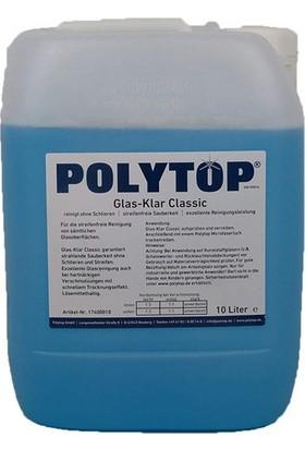 Polytop Glass Clear Cam Temizleme 10LT.