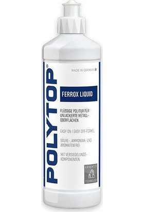 Polytop Ferrox Liquid Metal Parlatıcı 500ML.