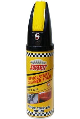 Autokit Döşeme Temizleme Köpüğü Fırçalı 400 ml
