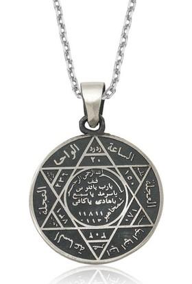 Gumush Gümüş Süleyman Mührü Kolye