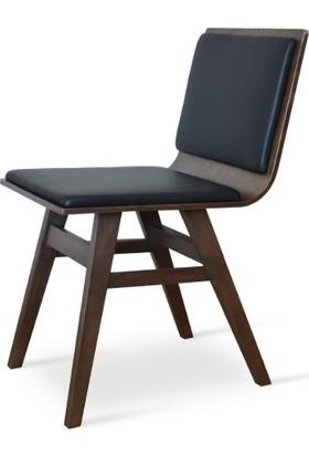 Adas Sandalye Masif Ahşap Mutafk Yemek Sandalyesi