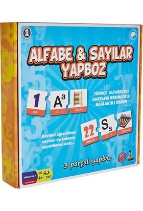 Mr Toy Alfabe ve Sayılar Yapboz 3 Parça