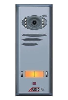 Audio Basic Kameralı Butonlu Zil Paneli 2 Li