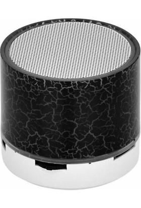 Azr Pg-108 Beyaz Işıklı Bluetoothlu Ses Bombası Usb Sd Kart Girişli