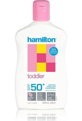 Hamilton Toddler Lotion SPF 50+ 250 ml - Çocuklar İçin Güneş Koruyucu Losyon
