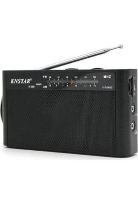 Knstar Manuel Kanal Aramalı Fm Radyo - Mini Cep Radyosu - Knstar K-268