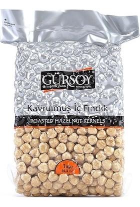 Gürsoy Kavrulmuş İç Fındık 1kg Vakum Paket