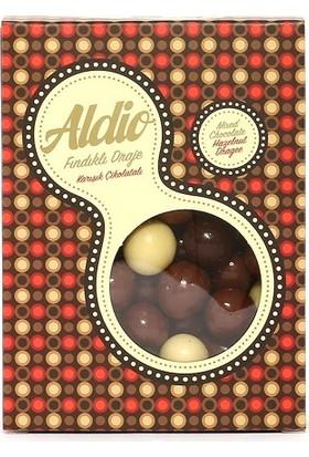 Aldio Karışık Çikolatalı Fındıklı Draje 200 gr Kutu
