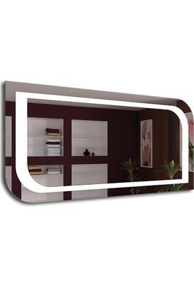 Dibanyo Buğu Çözücülü Sensörlü Ledli Ayna 50X80 Cm