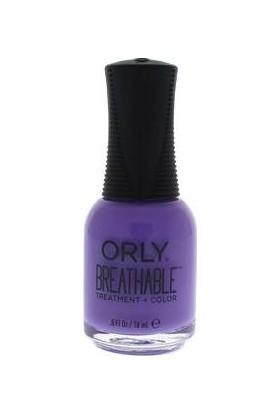 Orly Breathable Treatment + Color # 20920 Su Geçiren, Nefes Alan, Helal Oje