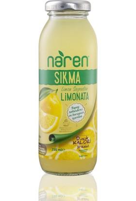 Naren Sıkma Limonata 250ml 12'Li Set