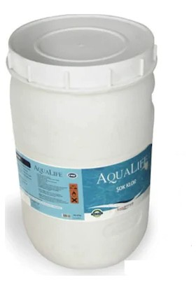 Aqualife Şok Toz Havuz Suyu Kloru %70 Lik 40Lt