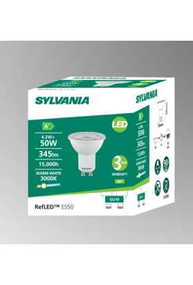 Sylvania GU10 LED Spot Lamba 4.5W Gün Işığı