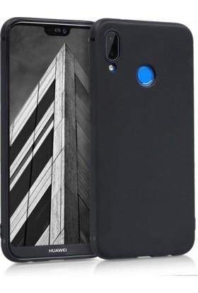 Zengin Çarşım Huawei P20 Lite Yumuşak Silikon Kılıf Ve Cam Ekran Koruyucu