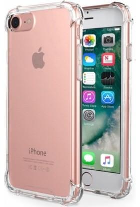 Zengin Çarşım Apple iPhone 6 / 6s Ultra İnce Şeffaf Airbag Anti Şok Silikon Kılıf - Ve Ekran Koruyucu