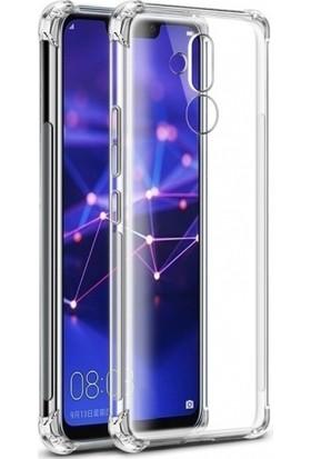 Zengin Çarşım Huawei Mate 20 Lite Kılıf Ultra İnce Şeffaf Airbag Anti Şok Silikon - Ve Ekran Koruyucu