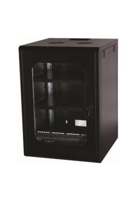 Ulusal ULS16U6060 16U Duvar Tipi Soho Rack Kabinet – 600 x 600 mm