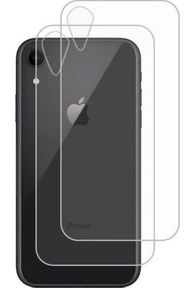 Kılıfkutusu iPhone Xr Arka Nano Cam Ekran Koruyucu