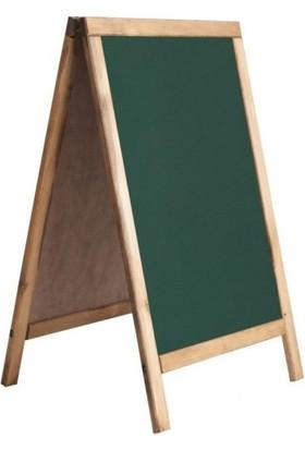 Vivekka 60X110 A Tipi Yeşil Menü Tahtası