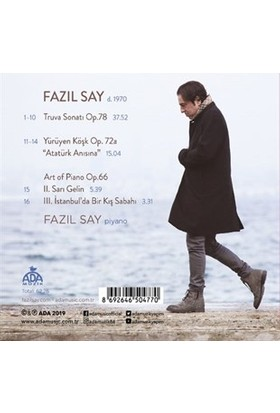 Fazıl Say (Plays Say) - Truva Sonatı (CD)