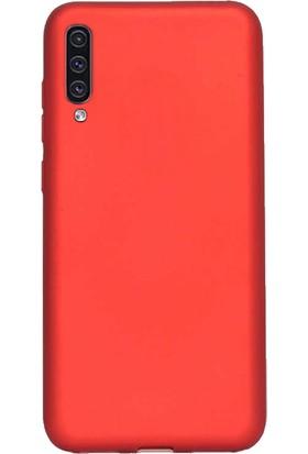 DVR Samsung Galaxy A70 Kılıf Silikon Premier (Kırmızı)