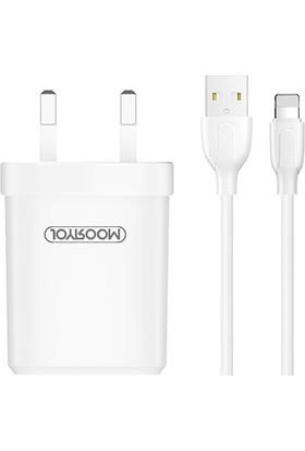 Joyroom L-M226 iPhone 2.4A Çift USB Seyahat Şarj Cihazı