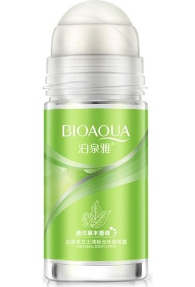 Bioaqua Yeşil Bitkiler Antiperspirant Antibakteryel Roll-On Deodorant 50 ml
