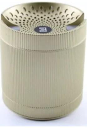 Escom E-04 FM/SD/USB/AUX Bluetooth Portatif Speaker Ses Bombası Gold